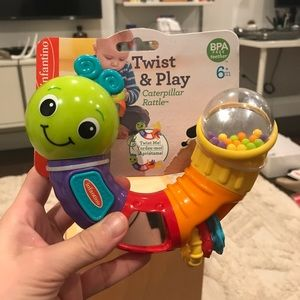 Other - Infantino Caterpillar Rattle